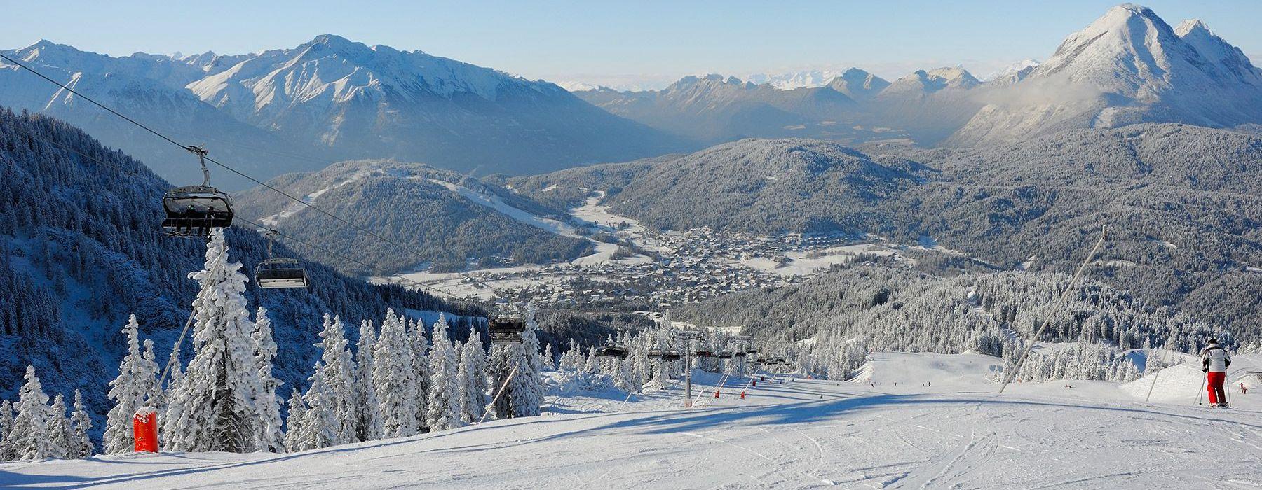 Skigebiet Rosshütte in Seefeld in Tirol