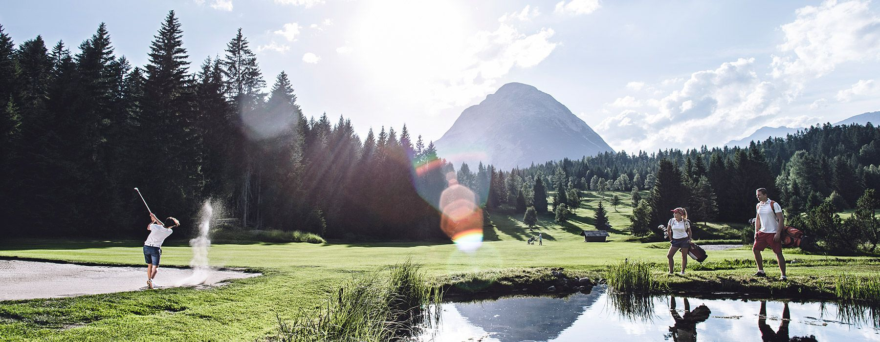 Golfen in Seefeld in Tirol